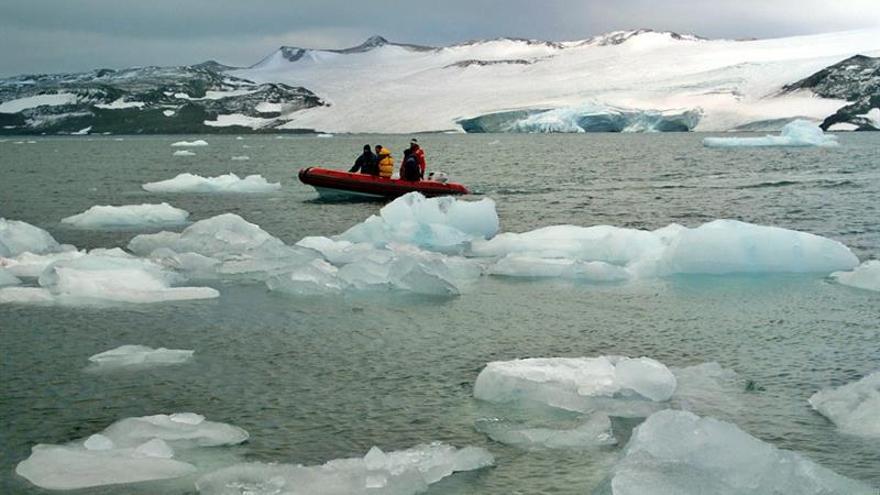 El 60 % de los océanos muestra signos del impacto del cambio climático