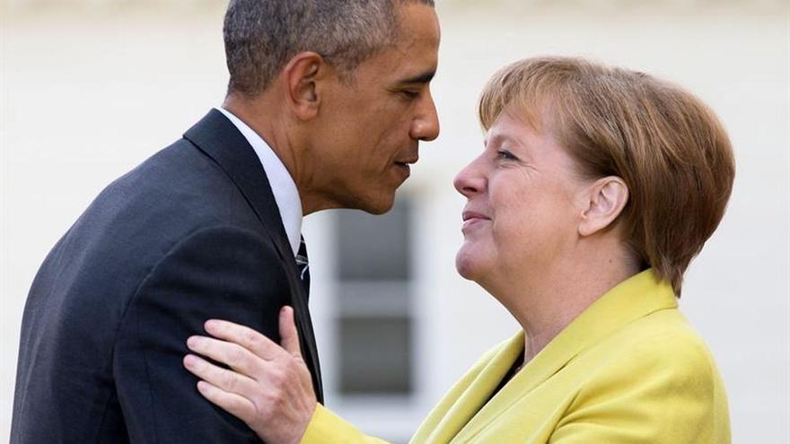 Merkel y Obama ratifican su alianza en la lucha contra el terrorismo internacional