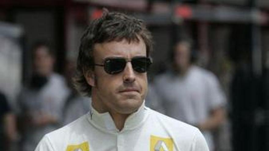"""Alonso (Renault): """"Estamos bastante en buena forma para la calificación"""""""
