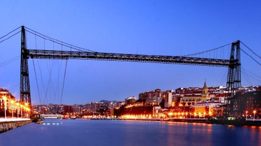 El Puente Colgante de Bizkaia. Foto: Basquetour