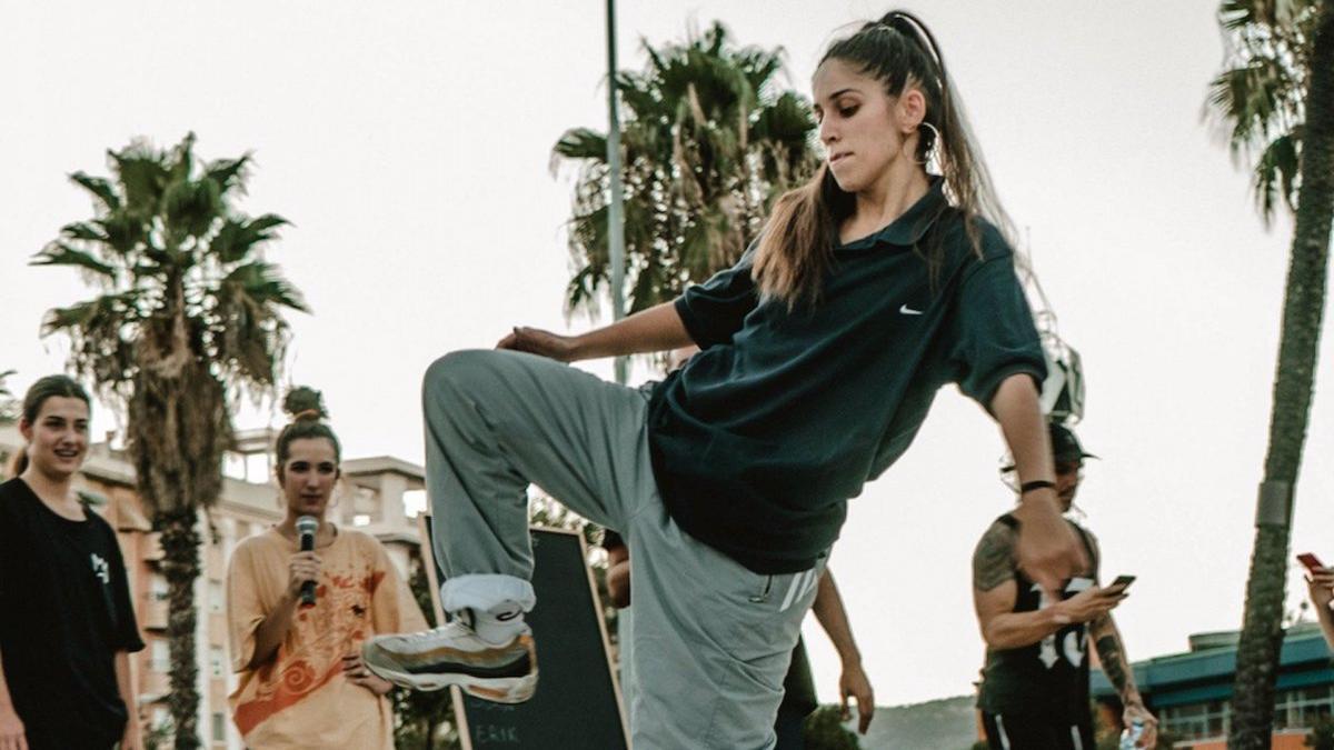 Imagen de una competición de danza urbana.