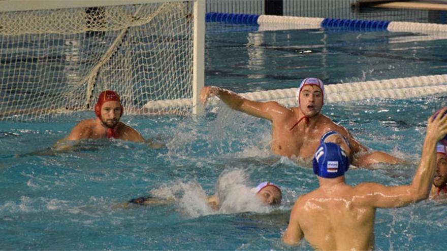 España derrotó a Holanda en Málaga en el primer partido de la temporada de la Liga Mundial de waterpolo