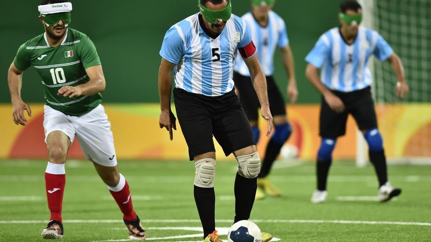 Silvio Velo, el mejor jugador de la historia del fútbol para ciegos
