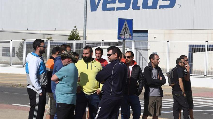 Los trabajadores de Vestas recaudan fondos para la 'caja de resistencia'