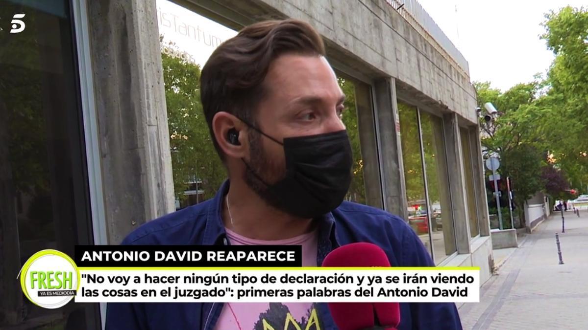 Antonio David Flores en 'Ya es mediodía'