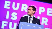 Albert Rivera, en el congreso de los liberales europeos celebrado en Madrid en noviembre