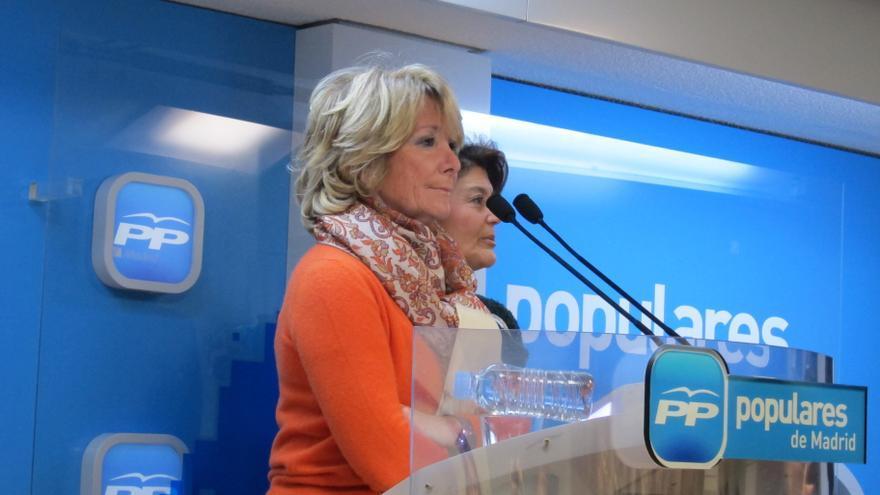 Aguirre dice que si Madrid no diera 2.700 millones al Fondo de Solidaridad no tendría que externalizar la sanidad