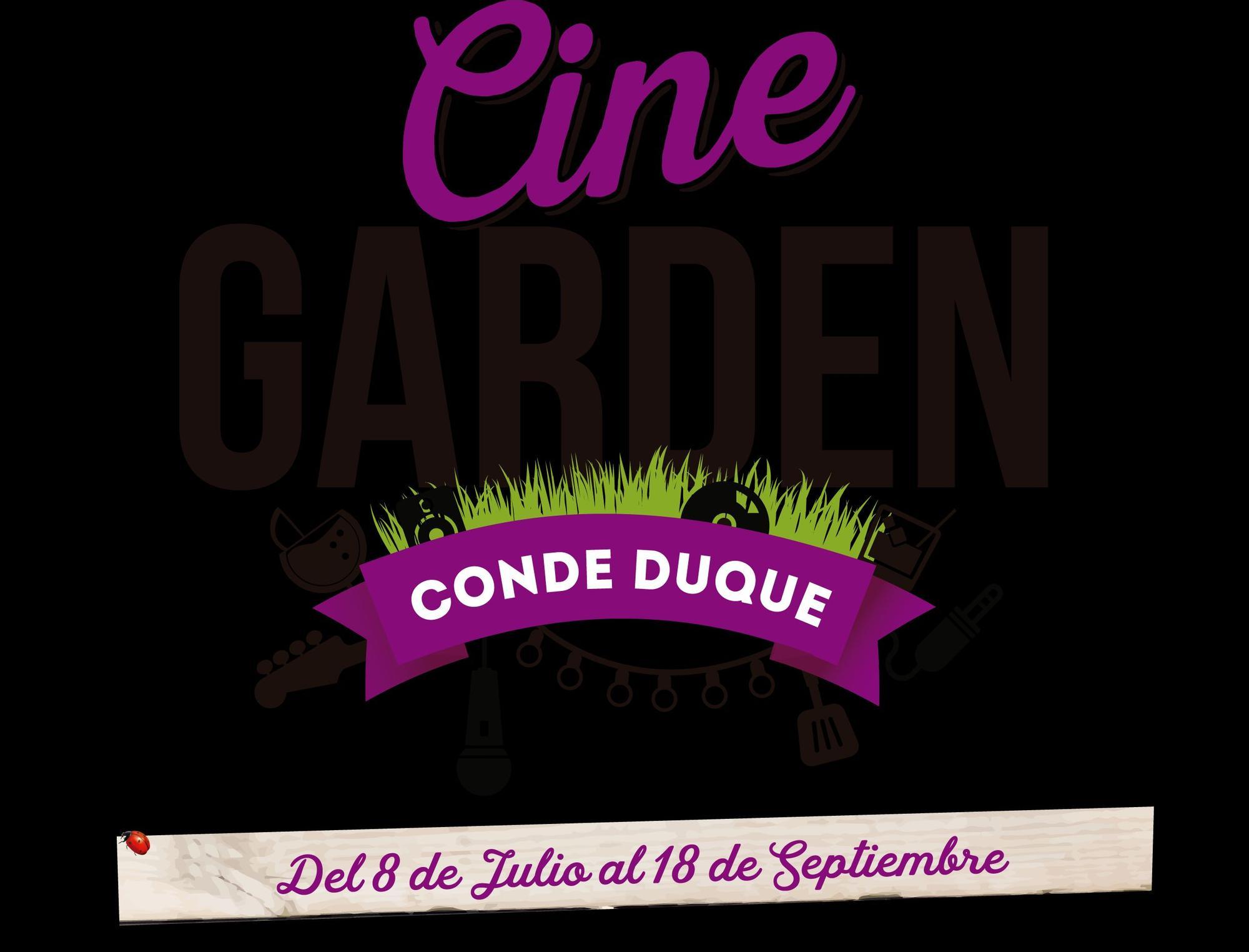 Cine Garden 2016 - cine de verano en Conde Duque