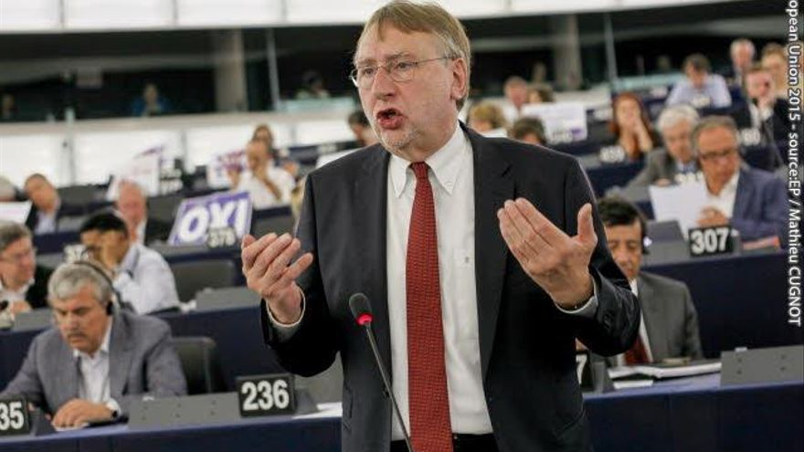 Bernd Lange eurodiputado alemán.