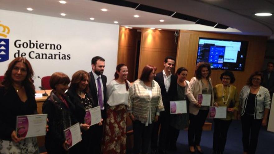 El Gobierno de Canarias concede cinco premios a los defensores de la igualdad de la mujer