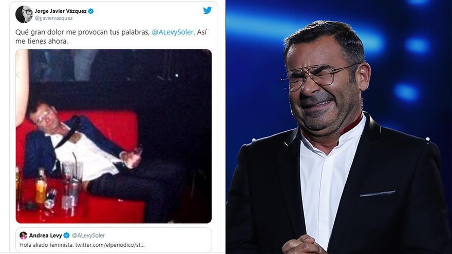 Jorge Javier replica a la ironía de Andrea Levy