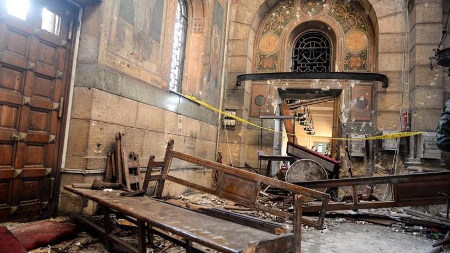 Uruguay condena el ataque terrorista a una iglesia de El Cairo