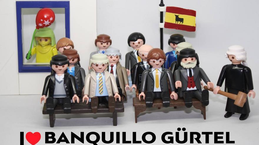 I love banquillo Gürtel