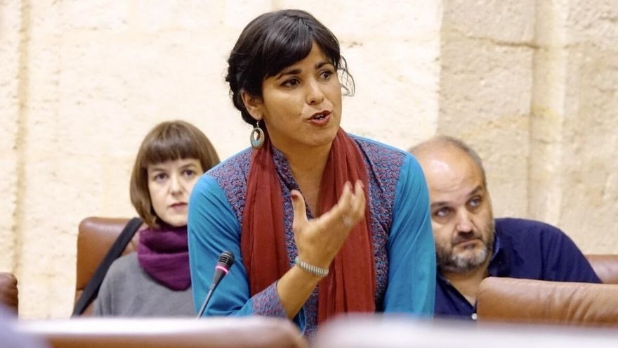 """Susana Díaz acusa a Rodríguez (Podemos) de ser """"una socia fácil"""" de los reyes del mambo de la CUP"""