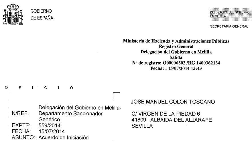 Multa a periodistas por fotografiar lo que ocurre en la valla de Melilla