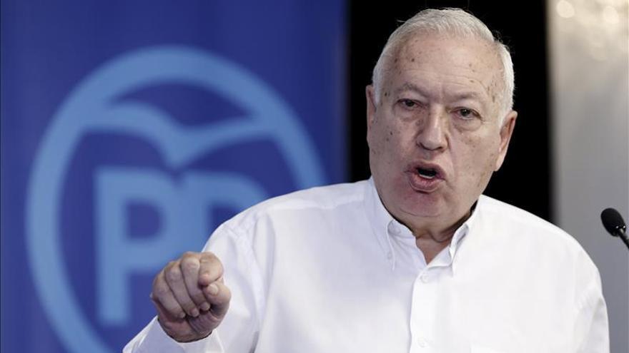 """Margallo dice que España hará """"esfuerzo"""" como miembro de coalición contra Daesh"""