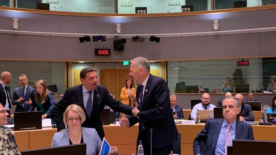 El ministro Planas en Bruselas