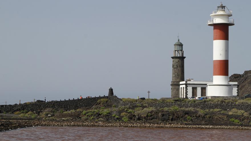 Localizan también en Tenerife la primera linterna del Faro de Fuencaliente de 1903 afectada por los terremotos del volcán de San Juan