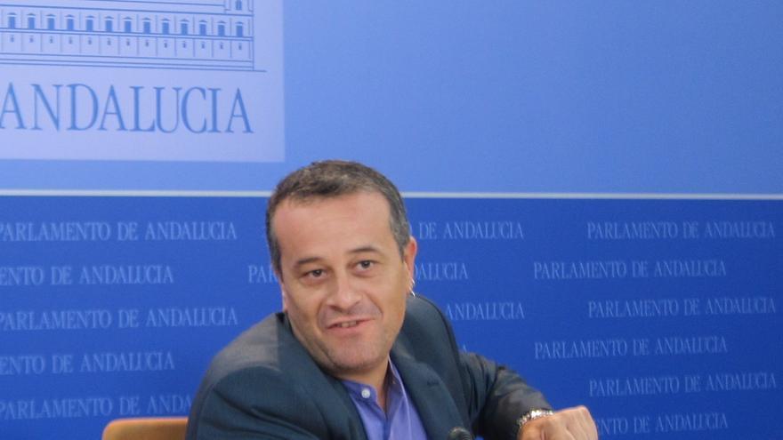 """IU-CA cree que Griñán acudió a la comisión de los ERE """"con las pinturas de guerra"""" y que no aportó mucha información"""