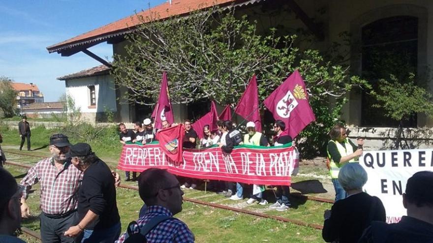 Los manifestantes han venidos desde de Asturias, Castilla y León, Extremadura y Andalucía / JLG