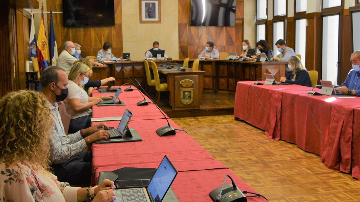 Imagen del Consejo de Gobierno del Cabildo.