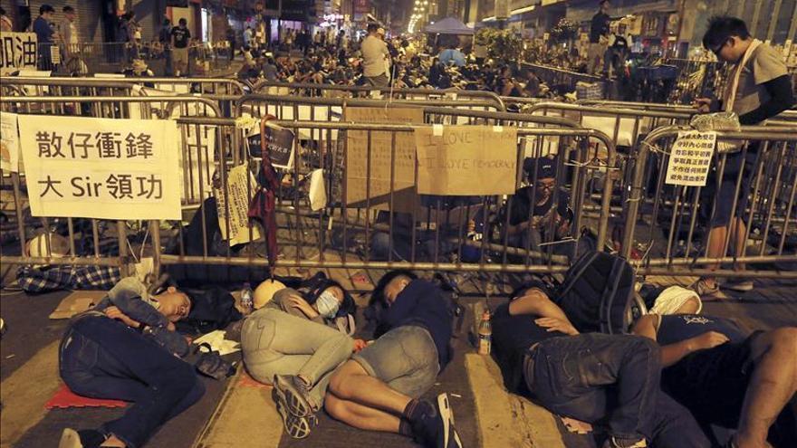 El gobierno de Hong Kong acusa a fuerzas extranjeras de alentar las protestas
