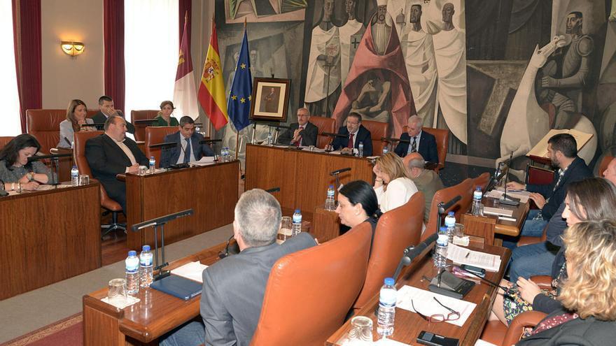 Pleno de la Diputación de Ciudad Real / Foto: Diputación