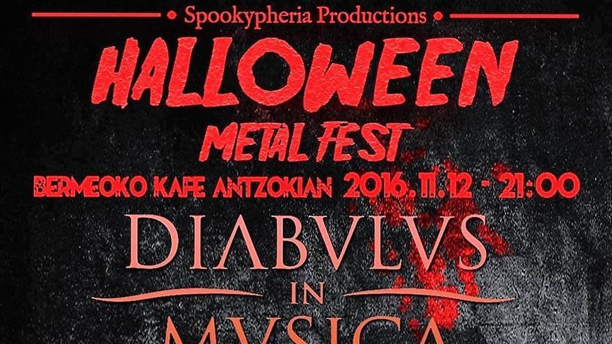Halloween Metal Fest en Bermeo el sábado 12 de noviembre