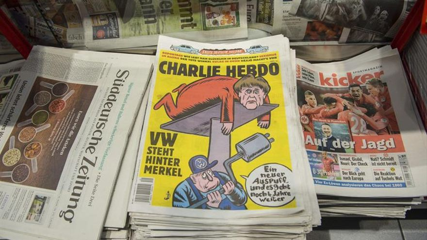 """Nuevas amenazas de muerte a """"Charlie Hebdo"""" tras una polémica portada"""