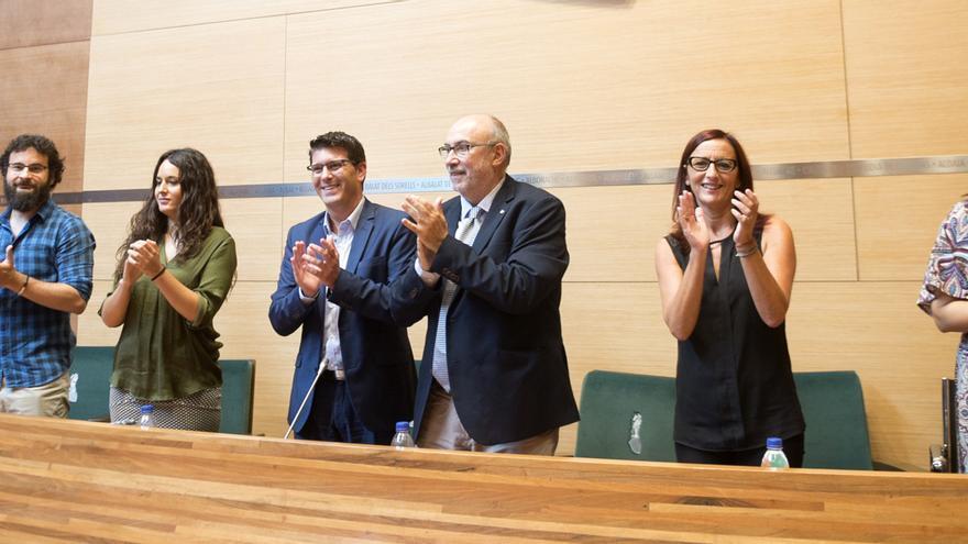 El acuerdo se ha firmado en el salón de plenos de la Diputación