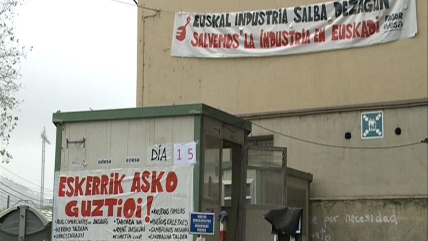 """Trabajadores de Edesa celebrarán una """"txistorrada popular"""" este domingo para agradecer el apoyo recibido"""