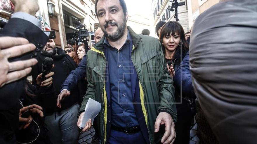 Salvini se abre a un posible Gobierno con el M5S que desbloquee Italia