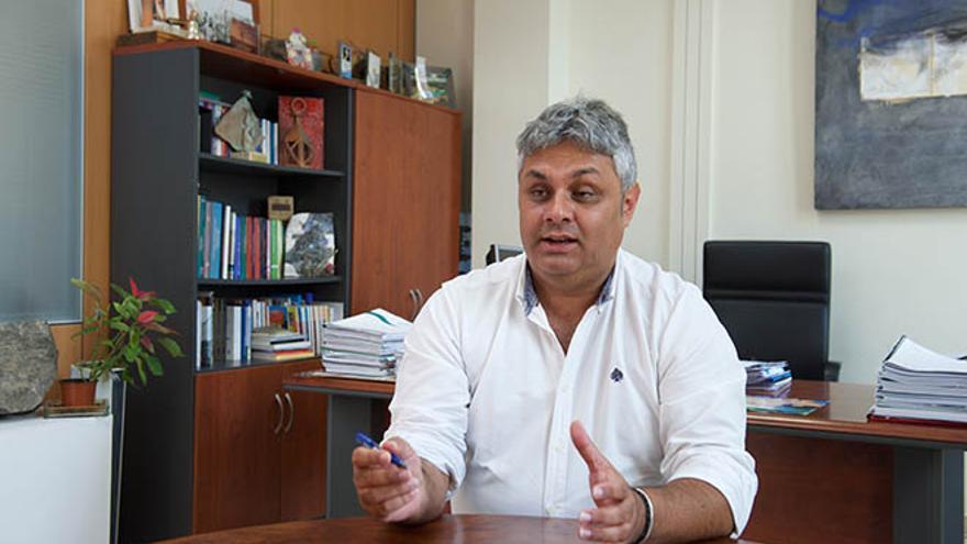 Juan Jiménez, consejero de Educación, Cultura y Patrimonio de Fuerteventura