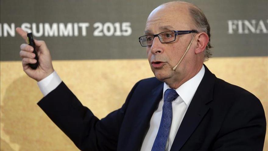 Montoro dice que el Estado no está para financiar veleidades independentistas