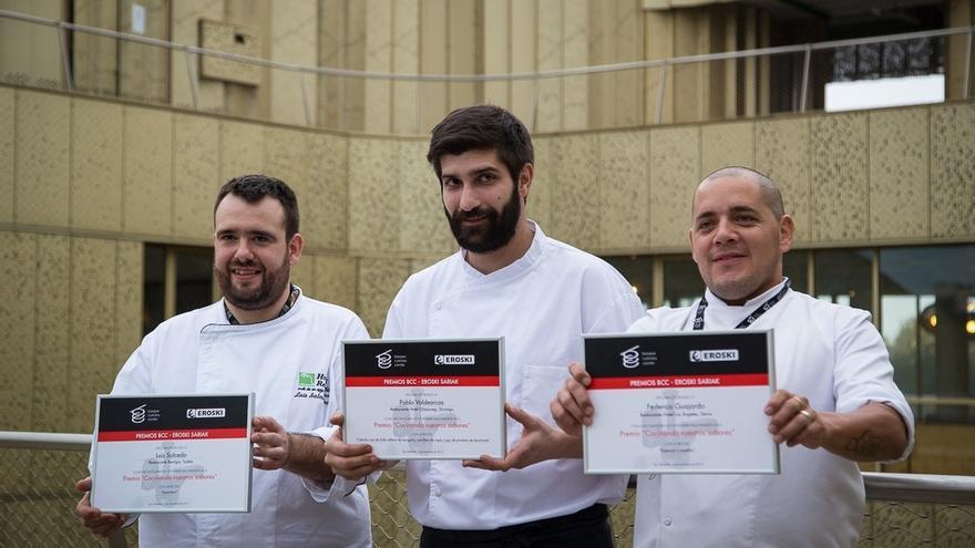 Luis Salcedo del restaurante Remigio de Tudela (Navarra) gana el IV Concurso cocinando nuestros sabores de BCC y Eroski