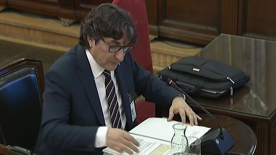 David Pérez, diputado del PSC, declara en el Supremo
