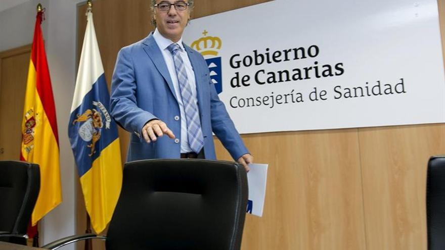El consejero de Sanidad del Gobierno de Canarias, Jesús Morera. (Efe/Quique Curbelo).