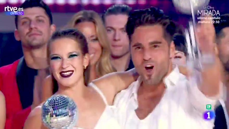 David Bustamante y Yana Olina cumplen los pronósticos y ganan Bailando con las estrellas
