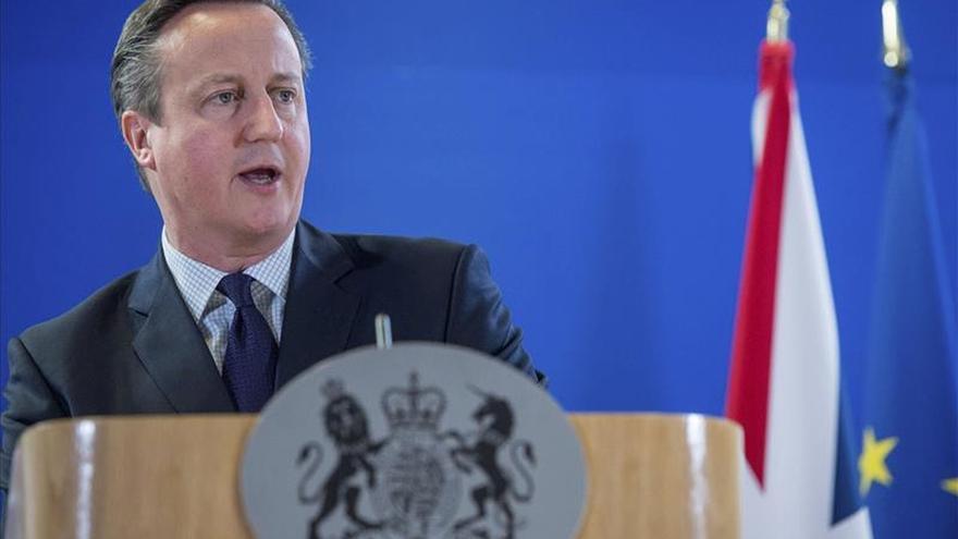 Cameron dice que 2016 será un año en el que Reino Unido cambie su relación con la UE