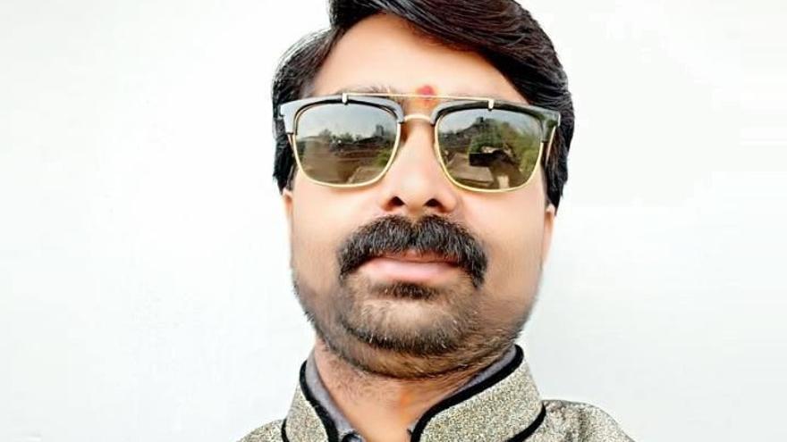 Sandeep Sharma, periodista muerto este lunes. Foto: Twitter