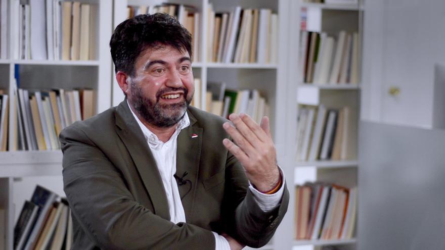 El candidato de IU Madrid en Pie, Carlos Sánchez Mato.