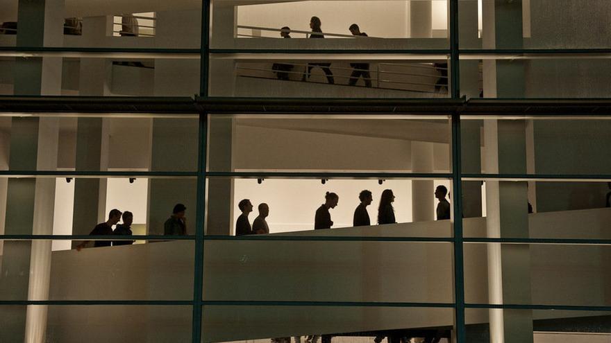 El MACBA durant la Nit dels Museus 2013 / Institut de Cultura