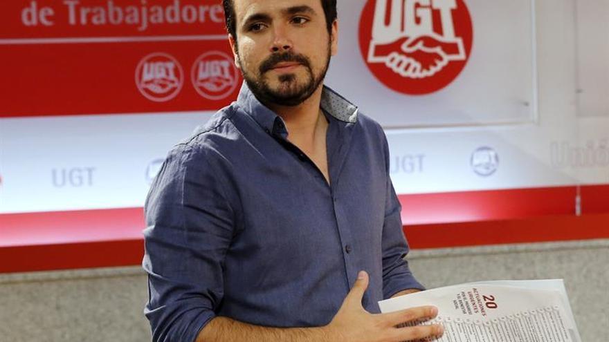 """Garzón a Pedro Sánchez: """"estamos condenados a entendernos"""""""