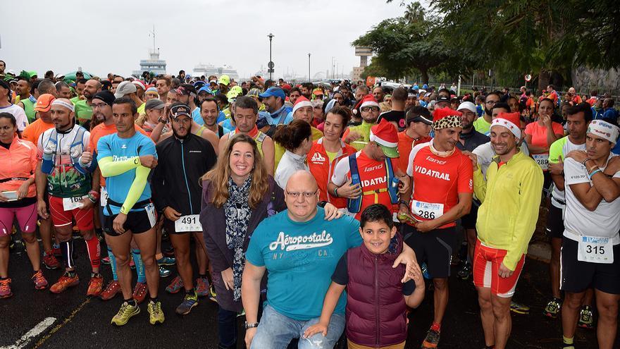 Gran afluencia de corredores en el VI Anaga Trail Solidario