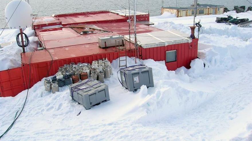 30 años del primer campamento español en la Antártida