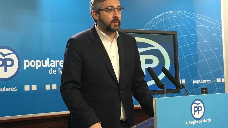 """El PP de Murcia exige al PSOE que """"termine su campaña de acoso judicial y respete las reglas de la democracia"""""""