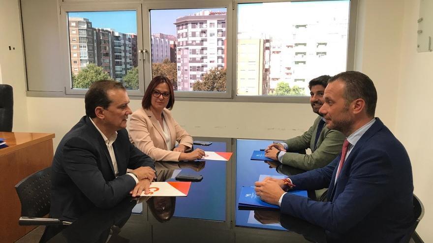Los dirigentes de PP, Cs y Vox alcanzan un acuerdo para desbloquear la gobernabilidad en Murcia