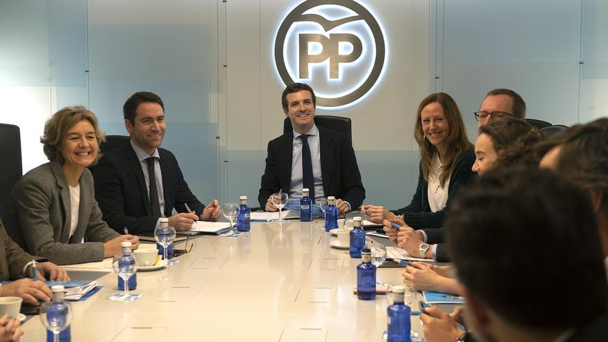 Reunión del Comité de Dirección del PP de este martes.