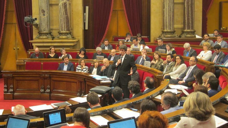"""Puigdemont: hay otras elecciones porque CDC rechaza ser """"muleta"""" de la política española"""