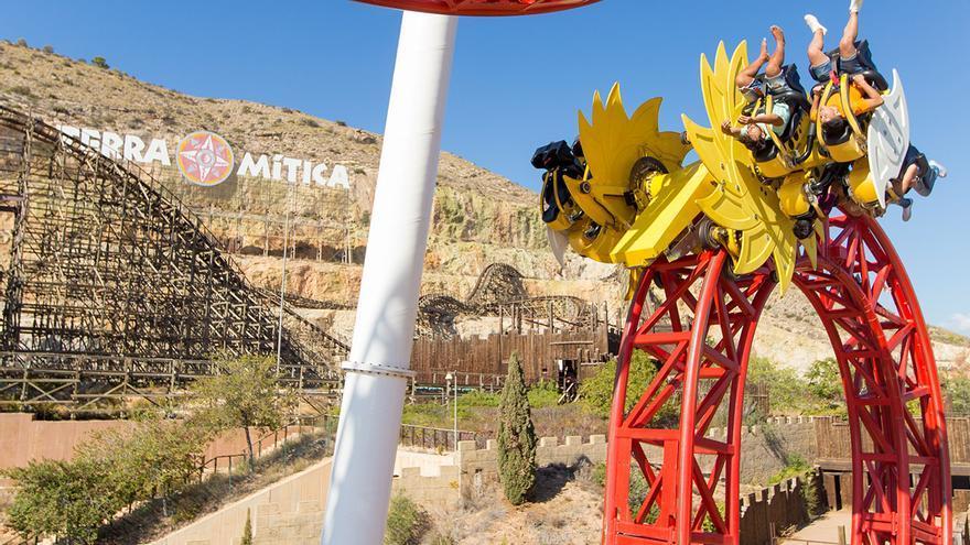 El parque Terra Mítica fue vendido en 2011